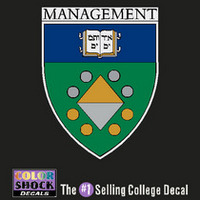 Yale Bulldogs Management Decal ¿¿¿¿¿¿¿¿¿¿¿¿¿¿¿