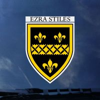 Yale Bulldogs Ezra Stiles Decal ¿¿¿¿¿¿¿¿¿¿¿¿¿