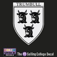 Yale Bulldogs Trumbull Decal ¿¿¿¿¿¿¿¿¿¿¿¿¿¿¿¿