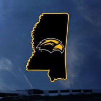 Southern Mississippi Eagles CDI Square Decal