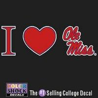 Ole Miss CDI Square Decal