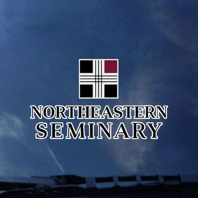 Northeastern Seminary Colorshock Name Decal