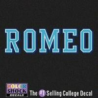 Romeo Company Decal