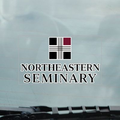 Northeastern Seminary Static Cling Decal