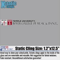 Boyer Static Cling Decal
