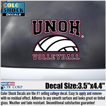 Volleyball Decal