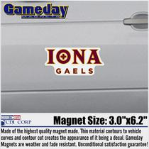 Small Car Magnet The Iona College Bookstore