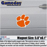 Clemson Tigers Car Magnet