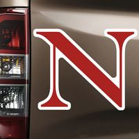 Northeastern Huskies Car Magnet