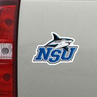 Nova Southeastern Mini Car Magnet