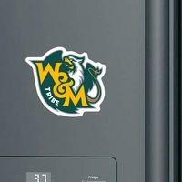 William and Mary Mini Car Magnet