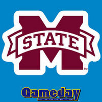 Mississippi State Bulldogs Car Magnet