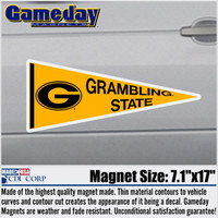 Grambling State Tigers Car Magnet