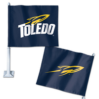 University of Toledo Wincraft Car Flag