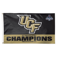 2017 AAC Football Champions Vertical Flag
