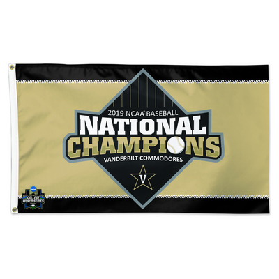 2019 College World Series National Champions Flag