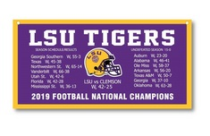 National Champions 18 x 36 Banner