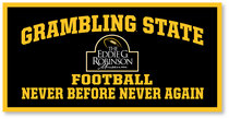 Grambling State Tigers Horizontal Multi Color Sport Logo Banner from Collegiate Pacific