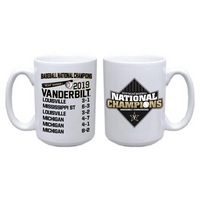 2019 College World Series National Champions 15oz Mug