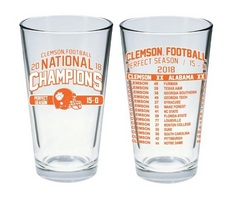 National Champions 16 oz. Mixing Glass