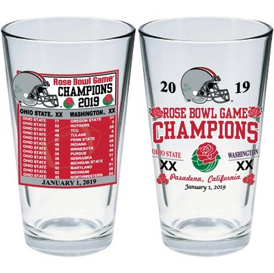 Rose Bowl Champions 16 oz. Mixing Glass