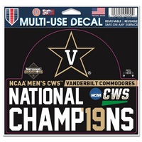 2019 College World Series National Champions Decal