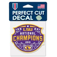 National Championship 4x4 Decal