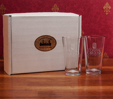 Set of 2 Pint Glass 16 OZ Chelsea Micro Brew (online only)