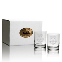 Set of 2 Crystal Aristocrat Double Old Fashion (online only)