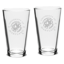 2 Set Pint Glass