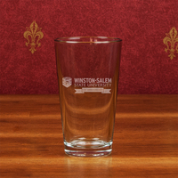 Crystal Chelsea Microbrew Pint Glass Anniversary