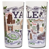 Collegiate Drinking Glass