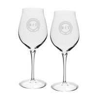 Luigi Bormioli Malvasia Orvieto Titanium Red Set of Two Wine Glass (Online Only)