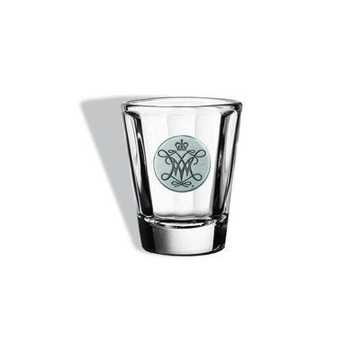 William and Mary Distinction Shot Glass