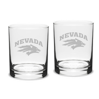 Set of 2 Etched 14 oz Double Old Fashion (Online Only)