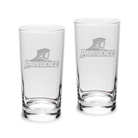 Set of 2 Etched 10 oz Highball Glasses (Online Only)