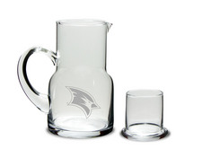 Etched Water Carafe & Glass (online only)