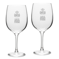 Set of 2 Red Wine Glass 19 oz  Class 2021