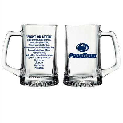 Penn State Nittany Lions Glass Tankard  Web Only