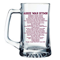 Texas A&M Aggies Glass Tankard