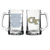 Georgia Tech Glass Tankard