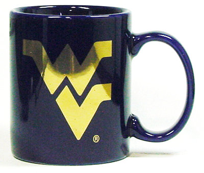 WVU Mountaineers Elgrande Coffee Mug