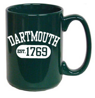 Dartmouth Big Green Elgrande Coffee Mug