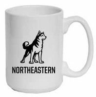 Northeastern Huskies Elgrande Coffee Mug