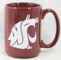 Washington State Cougars Elgrande Coffee Mug