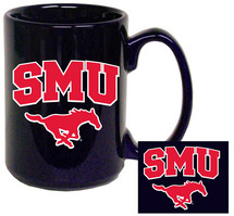 SMU Mustangs Elgrande Coffee Mug