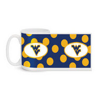 WVU Mountaineers Ceramic Mug