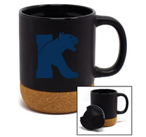 14 oz Cork Bottom Ceramic Mug