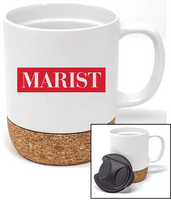 Cork Bottom Ceramic Mug
