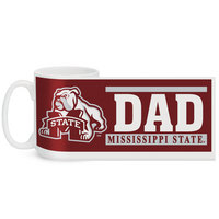 Mississippi State Bulldogs Color Max Dad Mug
